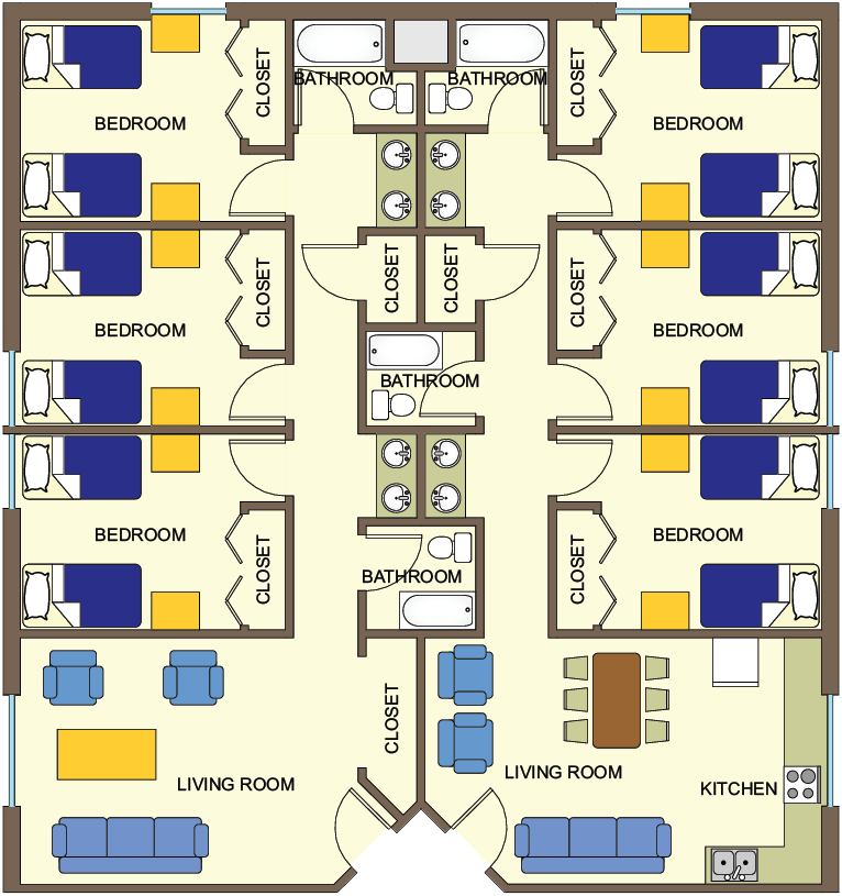 Aaron Jones Floor Plan